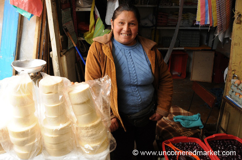 Cheese and Olives - Huancavelica, Peru