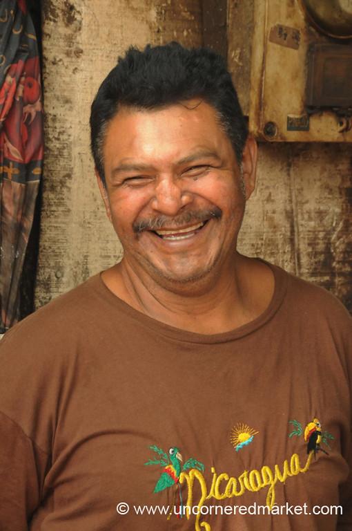 Hearty Laugh - Masaya, Nicaragua