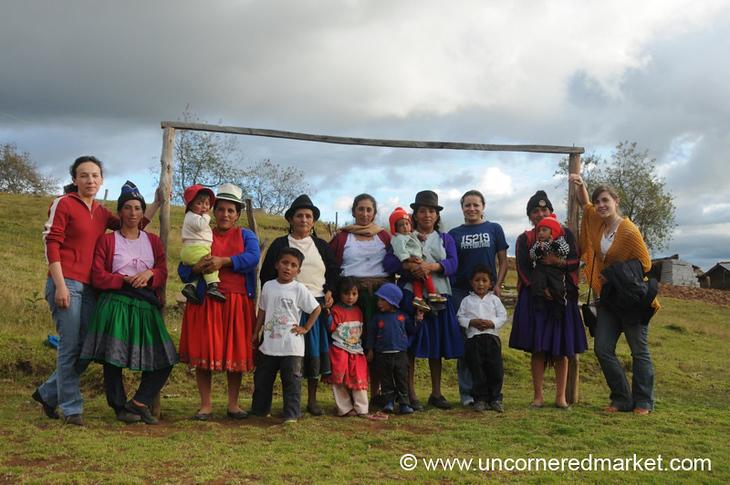 Team Kiva-Espoir - Outside Cuenca, Ecuador