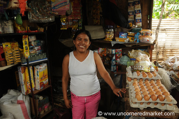 Running a Small Shop At the Front of the House - Masaya, Nicaragua