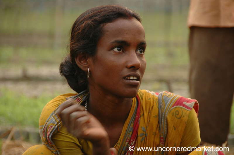 Young Indian Woman - West Bengal, India