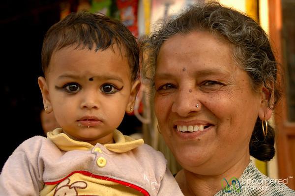 Proud Grandma - Kathmandu, Nepal