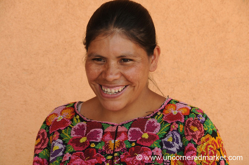Kiva Borrower, Proud Smile - Chesuc, Guatemala