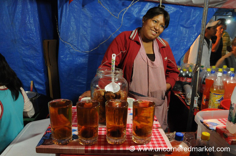 Moco Chincha, A Typical Bolivian Drink - Cochabamba, Bolivia
