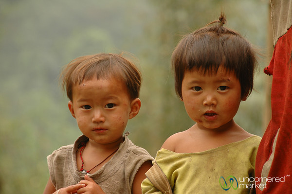 Surprised Looks - Sikkim