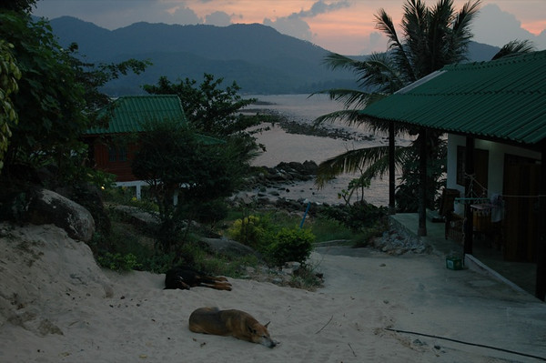 Haad Khom at Sunset - Koh Pha Ngan, Thailand