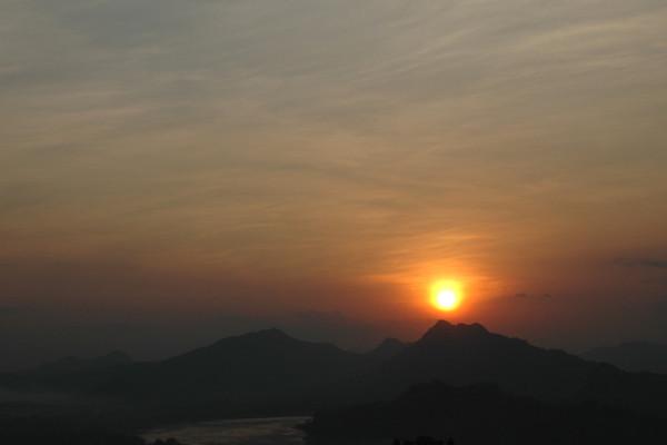 Sunset - Luang Prabang, Laos