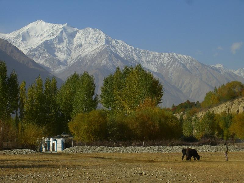 Wakhan Valley Views - Pamir Mountains, Tajikistan