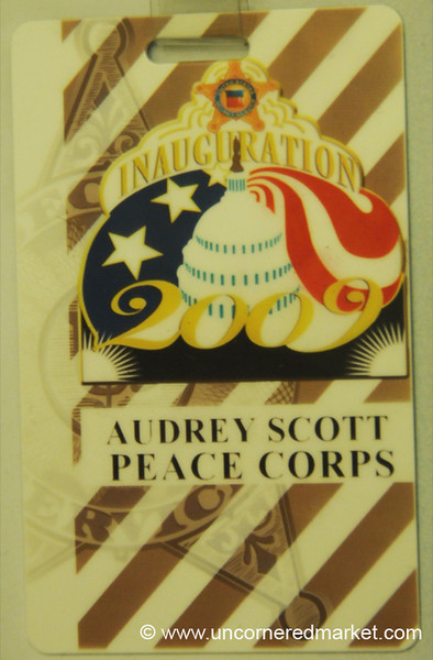 2009 Inaugural Parade Pass - Washington DC, USA