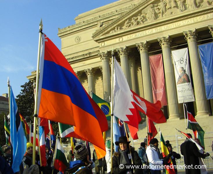 Flags Everywhere - Washington DC, USA