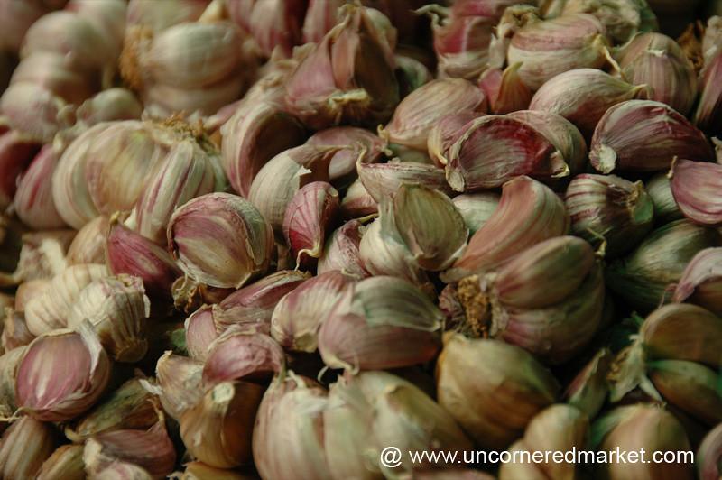 Purple Garlic - Xishuangbanna, China