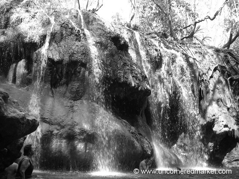 Finca El Paraiso, Hot Springs Waterfall - Rio Dulce, Guatemala