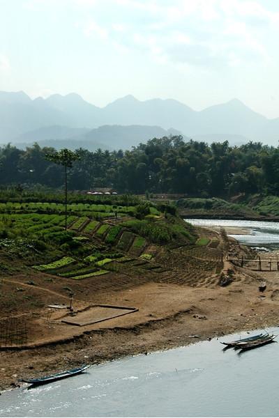 Nam Khan River - Luang Prabang, Laos