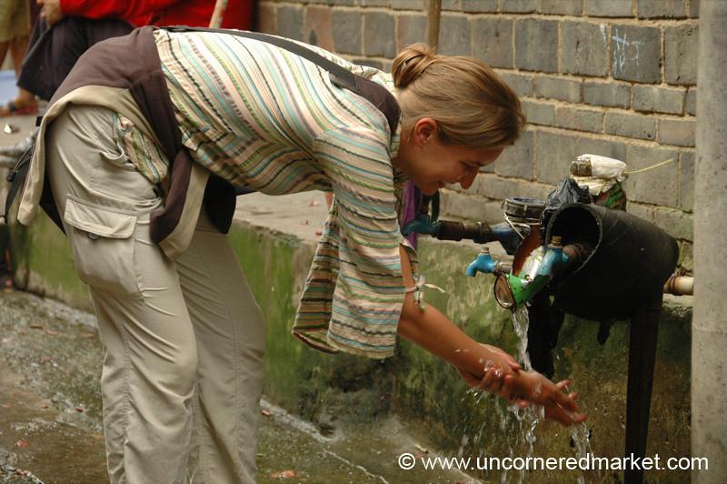 Washing Hands - Guizhou Province, China