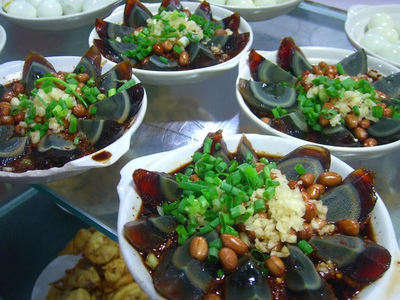 Century Egg Salad - Kaili, China