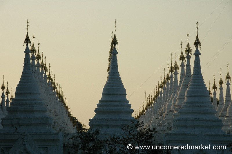 Sandamani Pagoda at Sunset - Mandalay, Burma