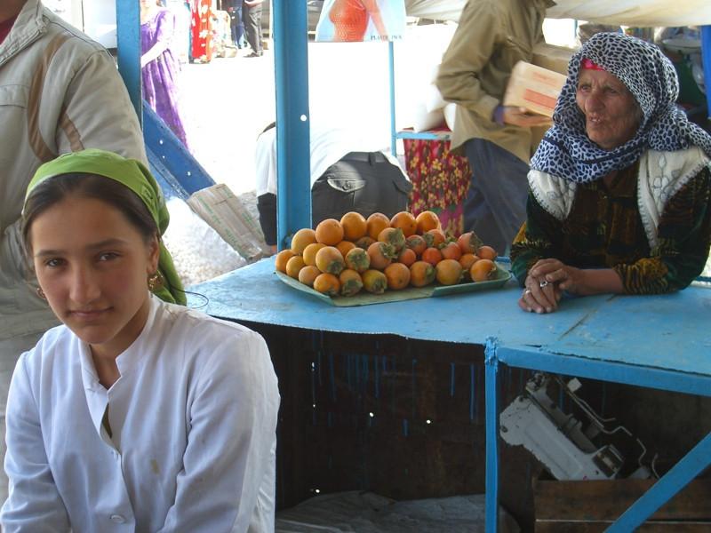 Women Vendors at Varzob Bazaar - Dushanbe, Tajikistan
