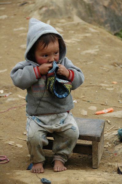 Little Hmong Boy - Sapa, Vietnam