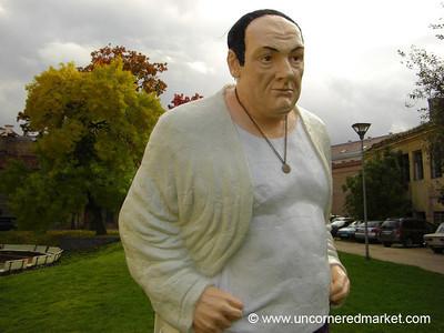 Tony Soprano Statue - Vilnius, Lithuania