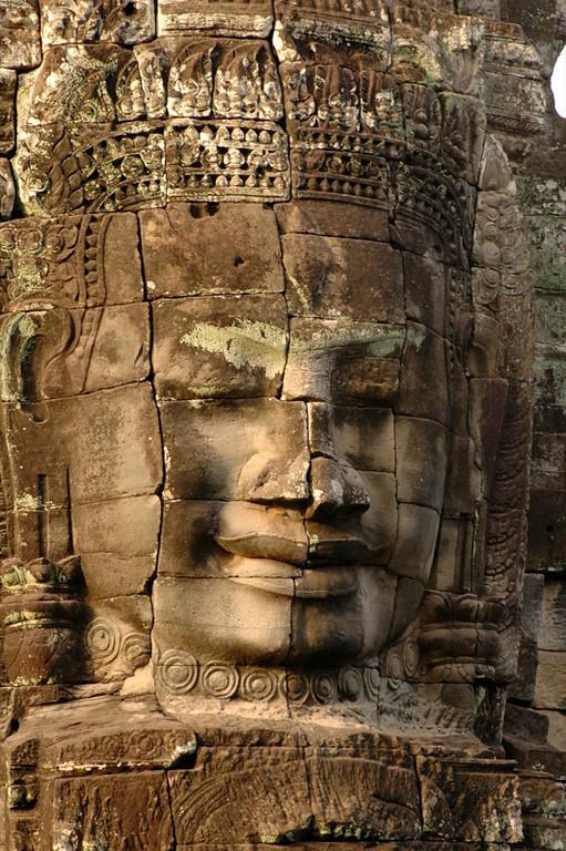 Bayon's Many Faces - Angkor, Cambodia