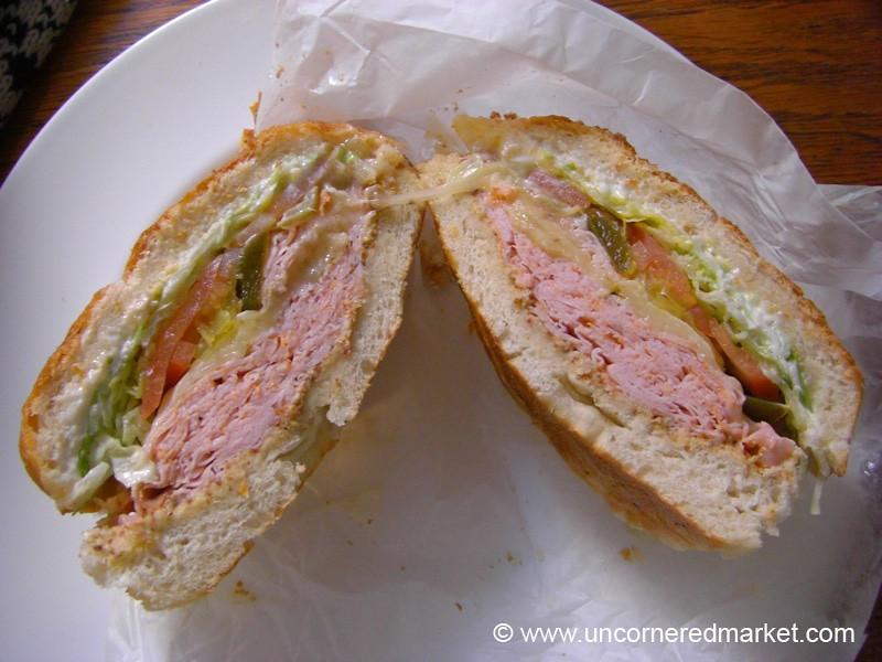Deli Sandwich - Brooklyn, New York