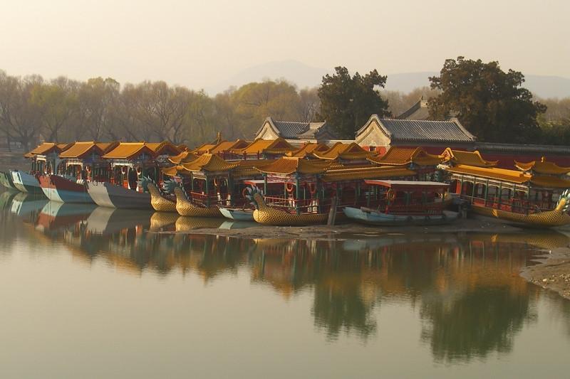Boat House, Summer Palace - Beijing, China