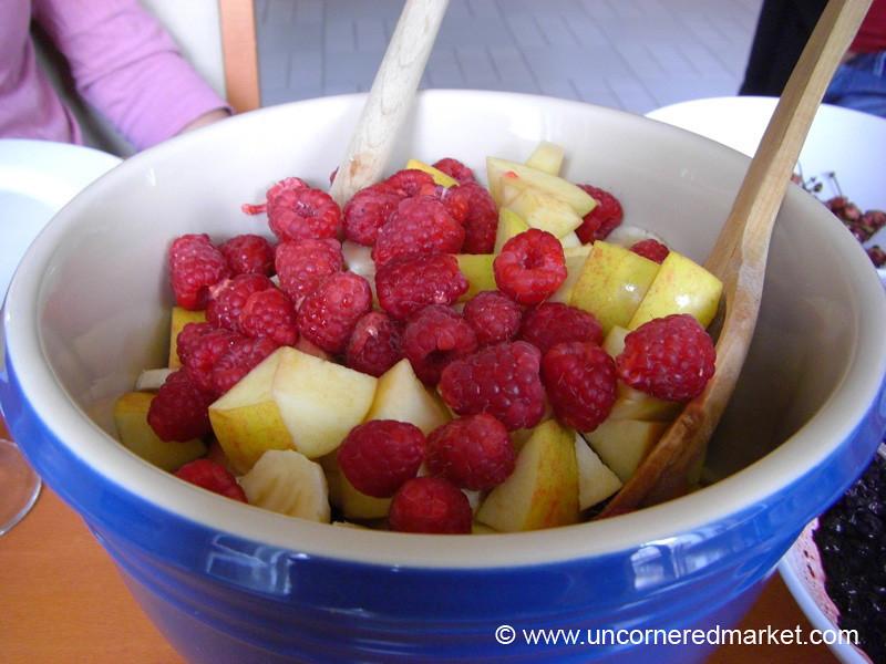 Bowl of Fresh Fruit - Prague, Czech Republic