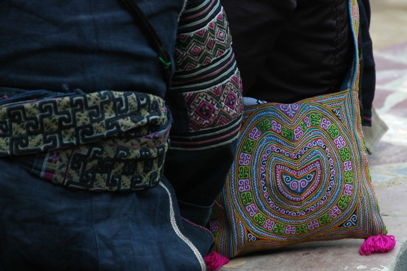 Embroidered Delights - Sapa, Vietnam