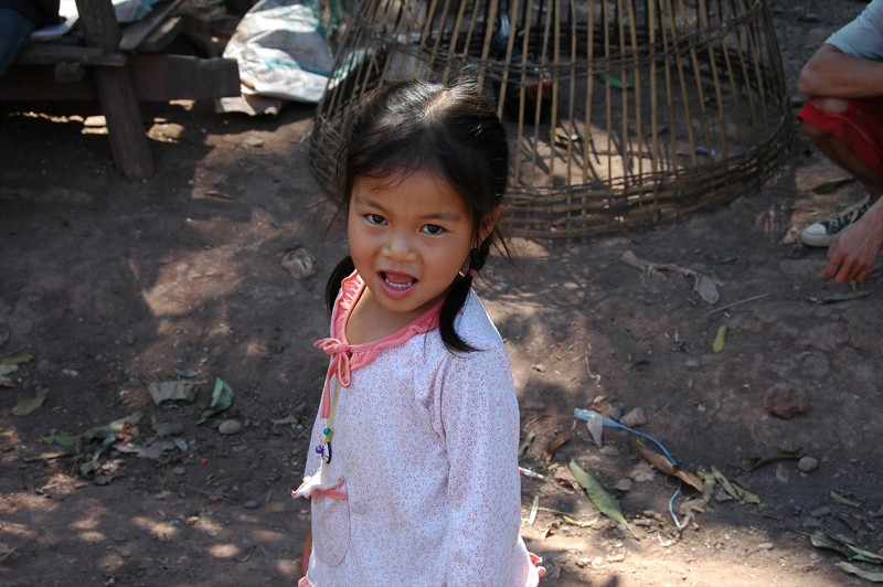 Village Girl - Luang Prabang, Laos