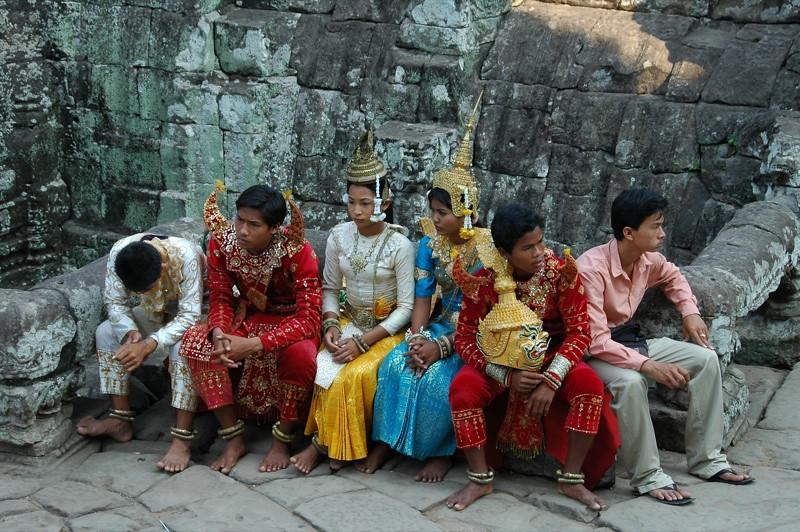 Modern Day Apsara Dancers - Angkor, Cambodia
