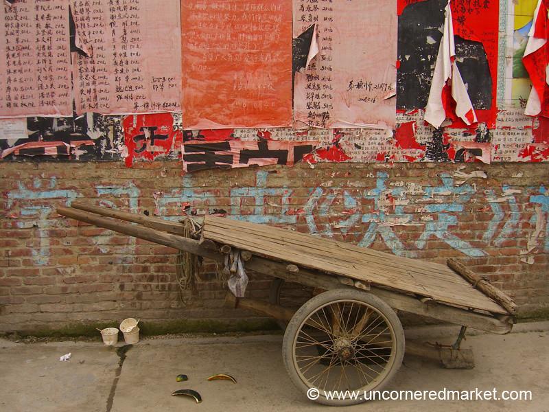 Chinese Cart, Chong'an - Guizhou Province, China