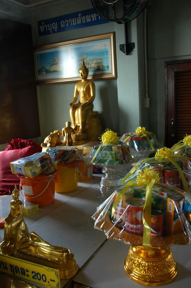 Buddha Offering - Bangkok, Thailand