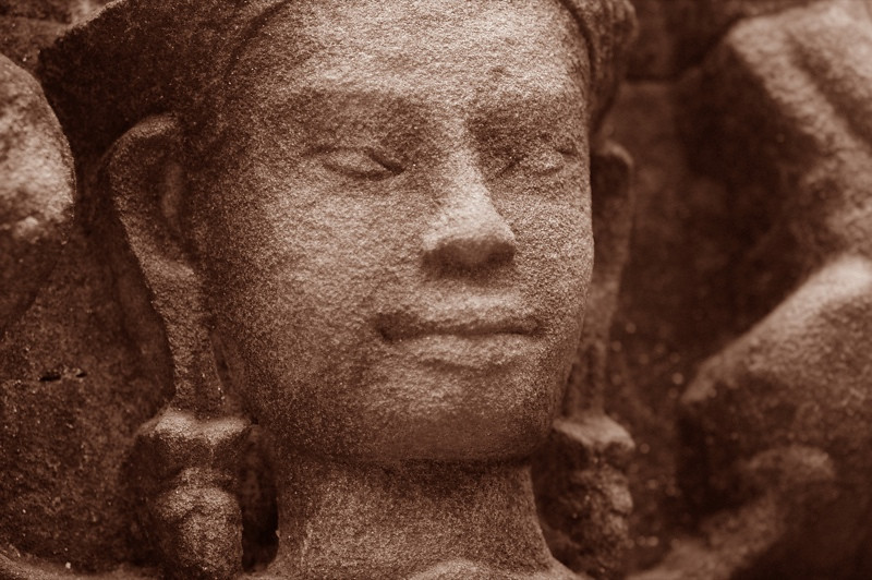 Proud Face at Ta Som Temple - Angkor, Cambodia