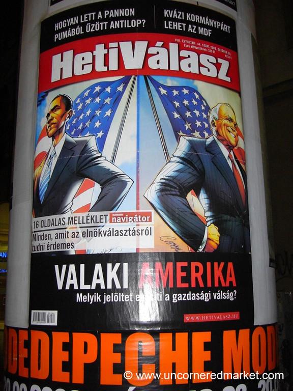 2008 American Elections Magazine - Budapest, Hungary