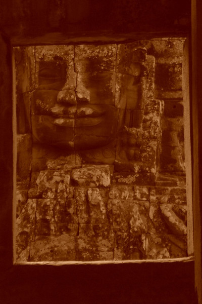 Face of Bayon - Angkor, Cambodia