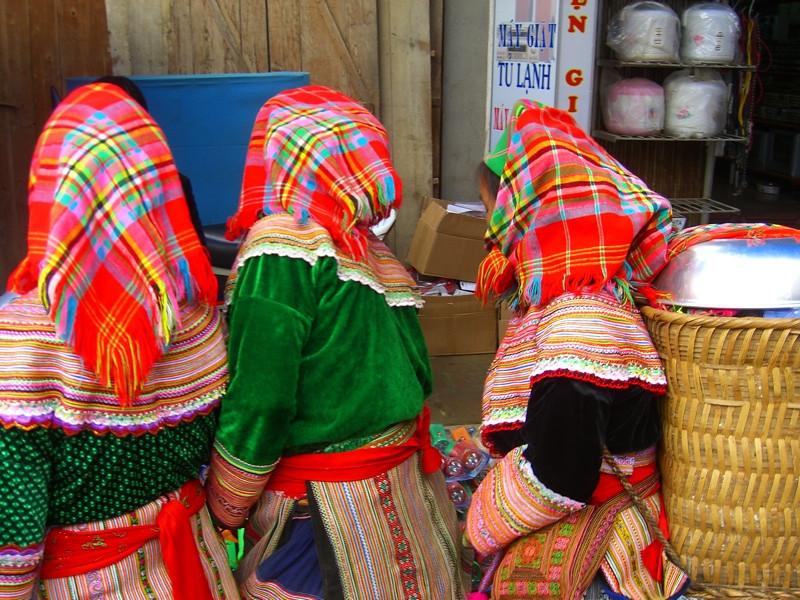 Flower Hmong Women - Bac Ha, Vietnam