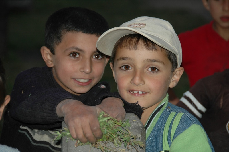 Young Armenian Boys - Tatev, Armenia