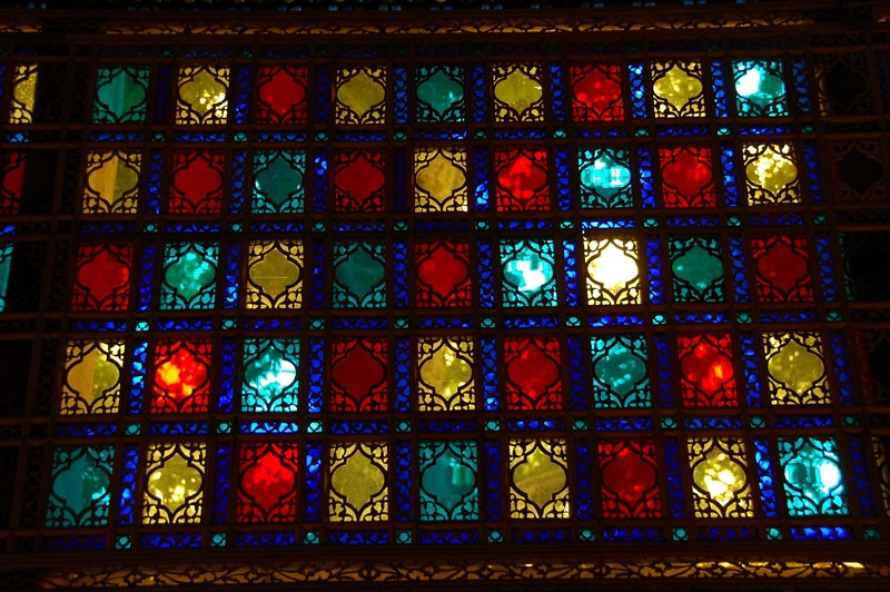 Colored Glass at Khan's Palace - Sheki, Azerbaijan