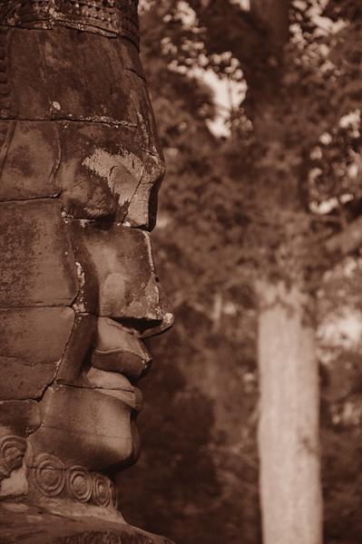 Bayon Face - Angkor, Cambodia