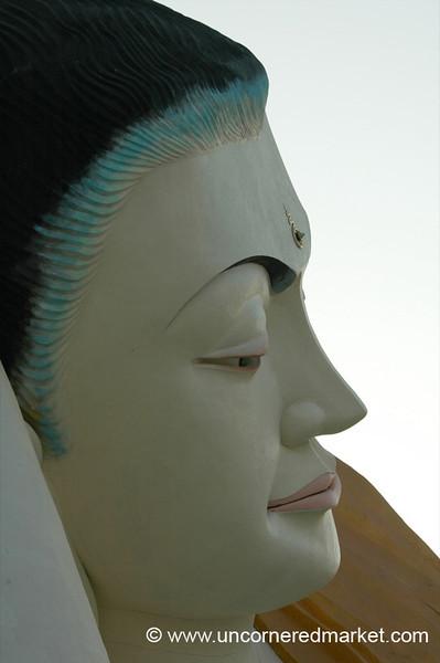 Buddha's Face - Bago, Burma