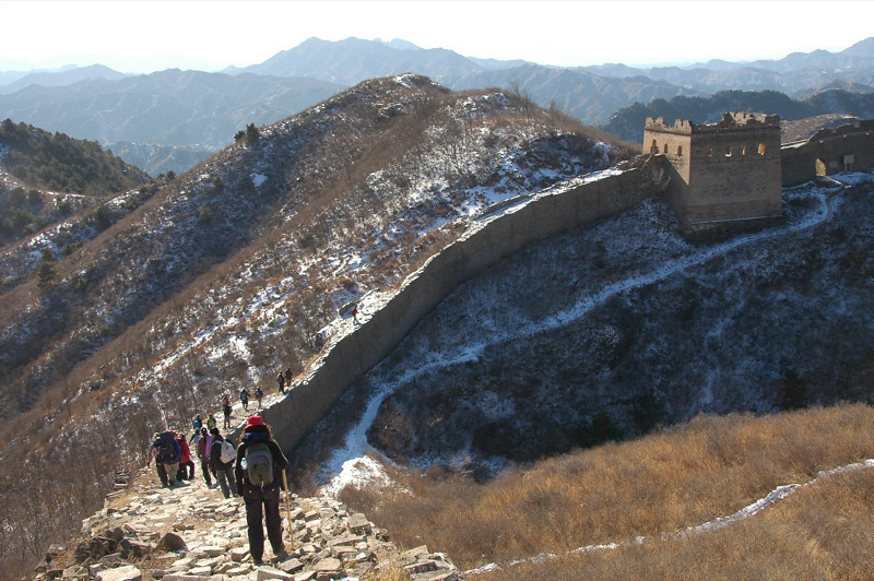 Jinshanling Path, Great Wall of China - Beijing, China