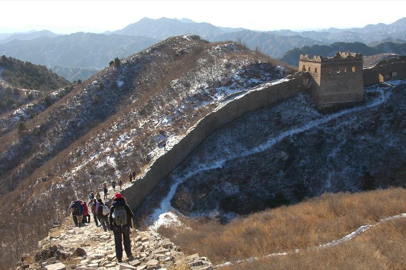 Jinshanling Path, Great Wall of China - Beijing, China