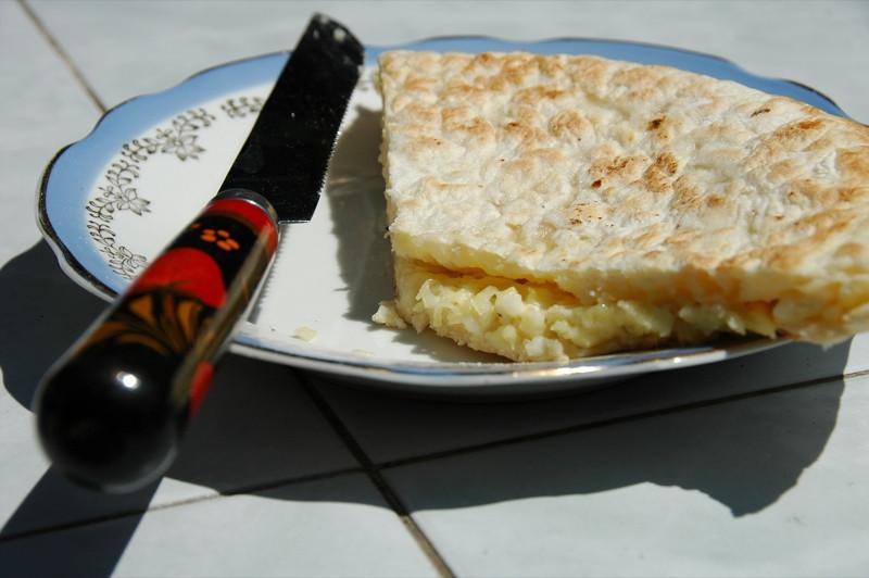 Slice of Khajapouri - Tbilisi, Georgia