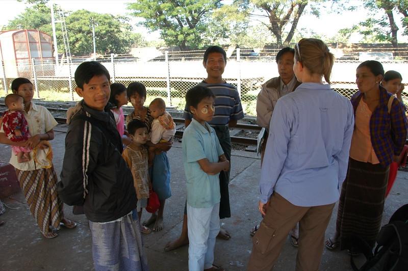 Toungoo Train Station - Myanmar