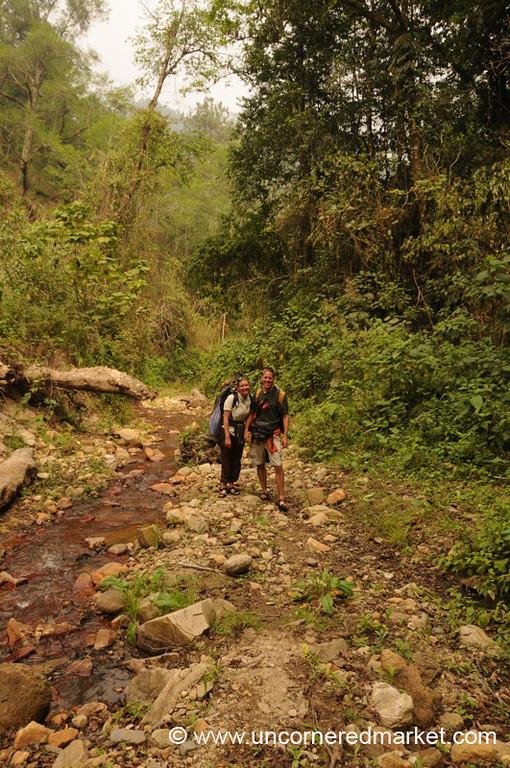 Dan and Audrey Trek to Lake Atitlan, Guatemala