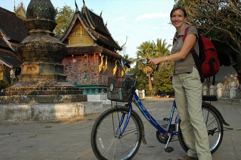 Bicycling Around - Luang Prabang