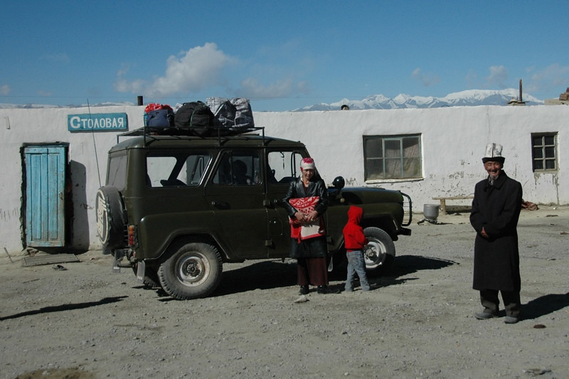 Jeep Trip Along Pamir Highway - Osh to Murgab, Tajikistan