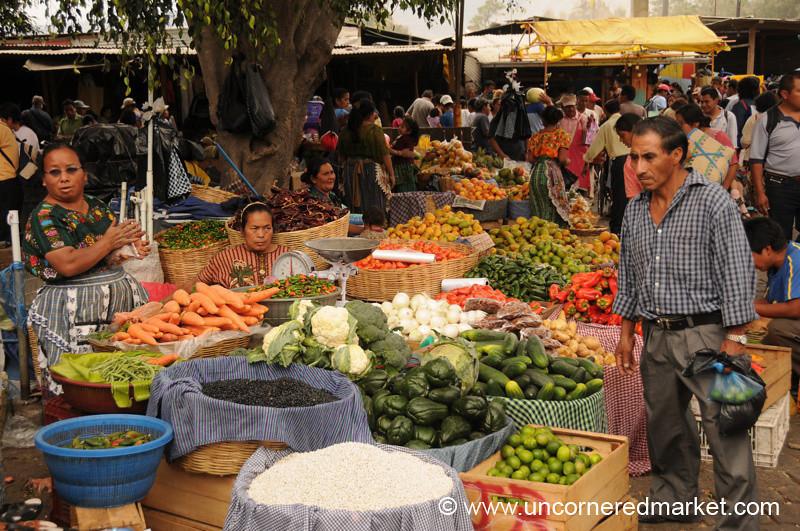 Antigua Market, Guatemala