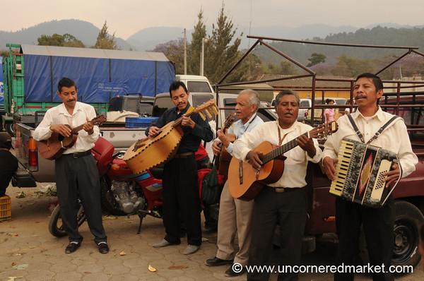 Guatemalan Church Musicians - Antigua, Guatemala