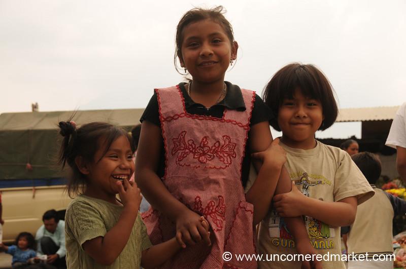 Cute Guatemalan Girls - Antigua, Guatemala